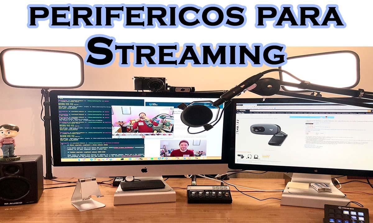 perifericos para streaming