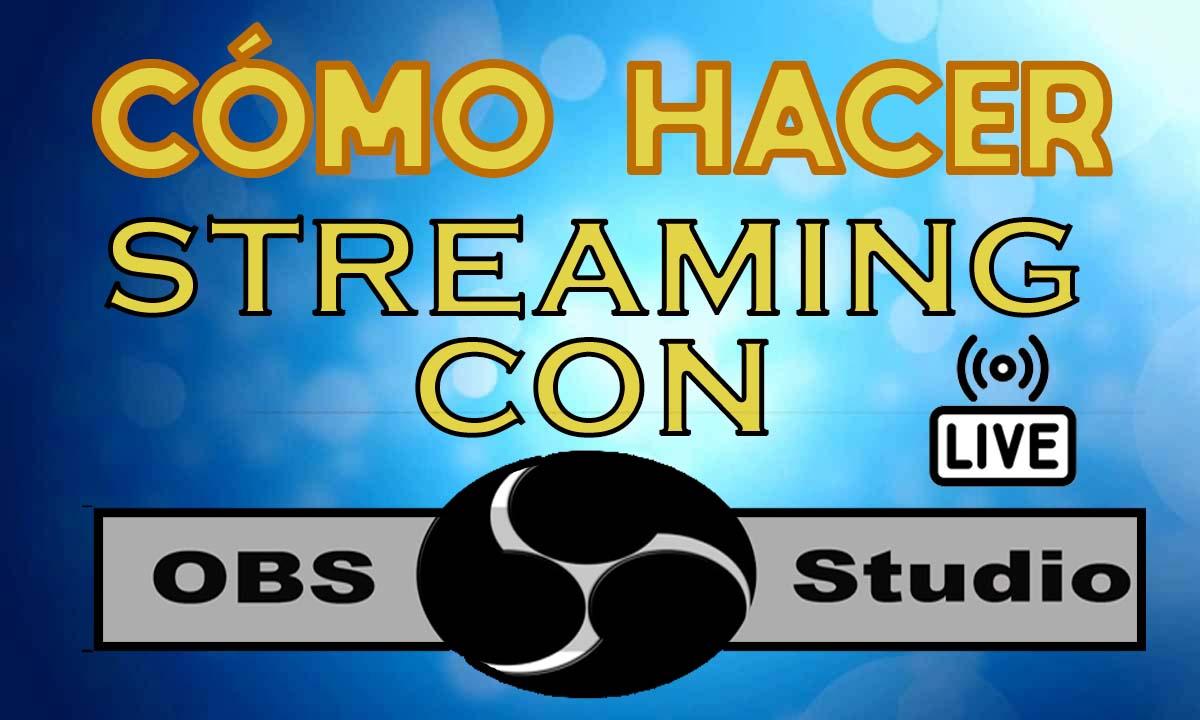 como emitir con OBS studio