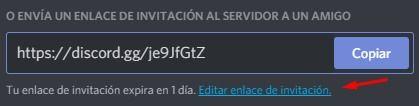enlaces de invitacion discord servidor