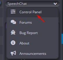 Speechchat chat window