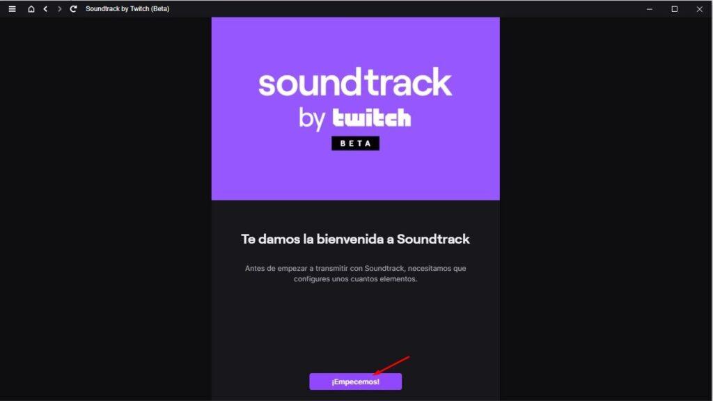 Twitch soundtrack para OBS studio