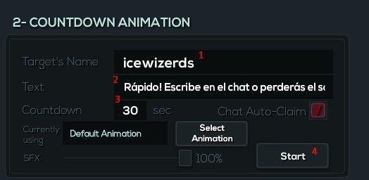 el ganador del sorteo Twitch