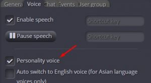 voz personalizada speechat
