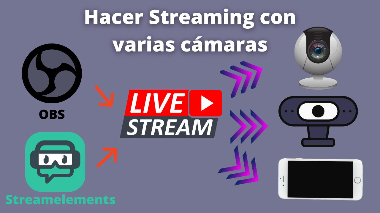 Hacer Streaming con varias cámaras(1)